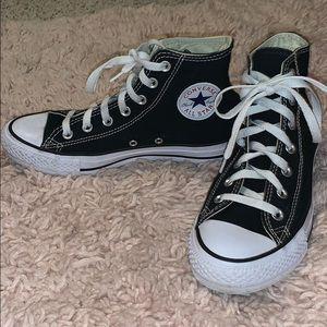 Converse Black High Tops!
